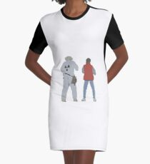 Back (s) to the Future  Graphic T-Shirt Dress