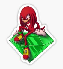 Sonic - Knuckles the Echidna Sticker