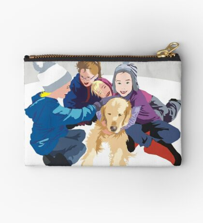 Snowball and friends Studio Pouch