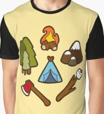 Camping is cool Graphic T-Shirt