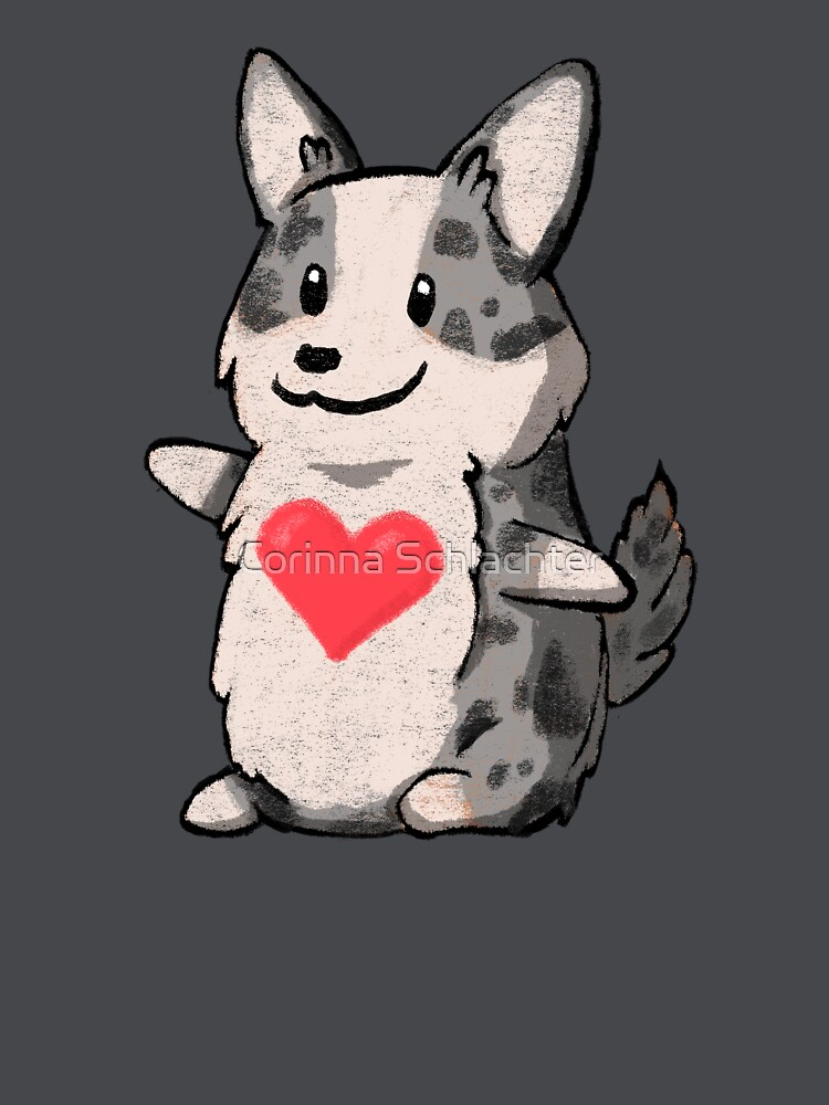 Cardigan Corgi Love by corinna-schl
