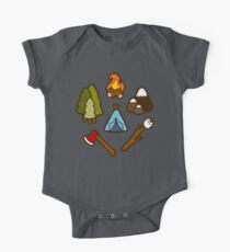 Camping is cool One Piece - Short Sleeve