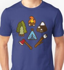 Camping is cool Unisex T-Shirt
