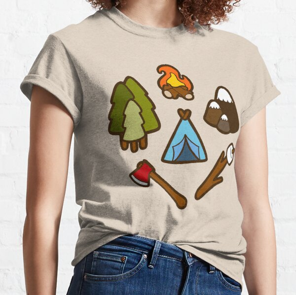 Camping is cool Classic T-Shirt