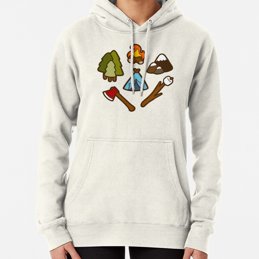 Camping is cool Pullover Hoodie