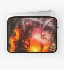 Walking Home From Work One August Evening Laptop Sleeve