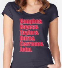 Major League Cast Women's Fitted Scoop T-Shirt