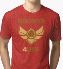 Bronze 4 Life Tri-blend T-Shirt