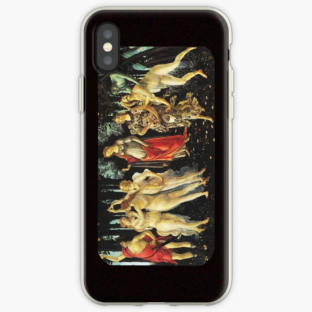 La Primavera di Botticelli -  Allegory of Spring iPhone Cases & Covers