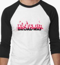 Eine Feier des Broadway Baseballshirt für Männer