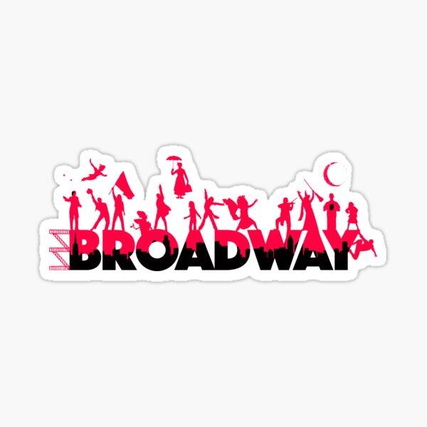 A Celebration of Broadway Sticker