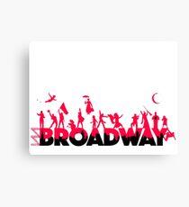 A Celebration of Broadway Canvas Print