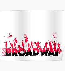 A Celebration of Broadway Poster