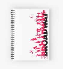 A Celebration of Broadway Spiral Notebook