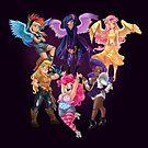 Equestria Girls by CherryGarcia