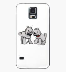 Minecraft Wolf / Minecraft Dogs Case/Skin for Samsung Galaxy