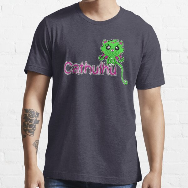 Cathulhu (Lovecraft Loves Cats!) Essential T-Shirt