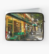 Sitting At The Bakery Laptop Sleeve