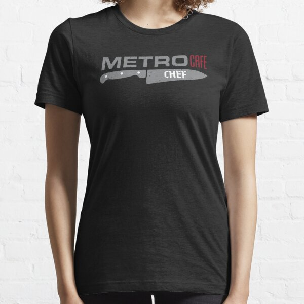 Metro Cafe Chef's Knife Essential T-Shirt