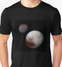 Pluto and Charon Unisex T-Shirt