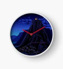 Monkey Island Deep in the Caribbean Clock