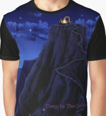 Monkey Island Deep in the Caribbean Graphic T-Shirt