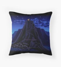 Monkey Island Deep in the Caribbean Throw Pillow