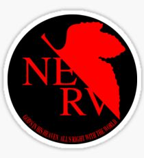 NERV ver.black Sticker