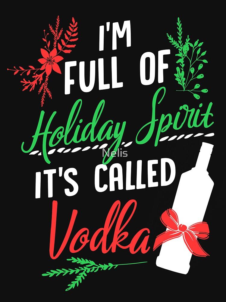 Ich bin voll von Holiday Spirit und es heißt Vodka Christmas Party von Nelis