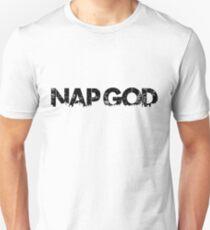 Funny Sleep- Nap God Unisex T-Shirt