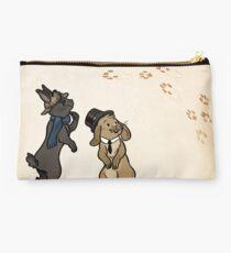 Sherlock and Watson Bunnies Studio Pouch