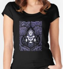 Temple glass, Thailand Women's Fitted Scoop T-Shirt