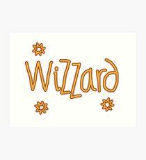 Wizzard Art Print