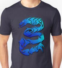 Sharp Blue Dragon  T-Shirt