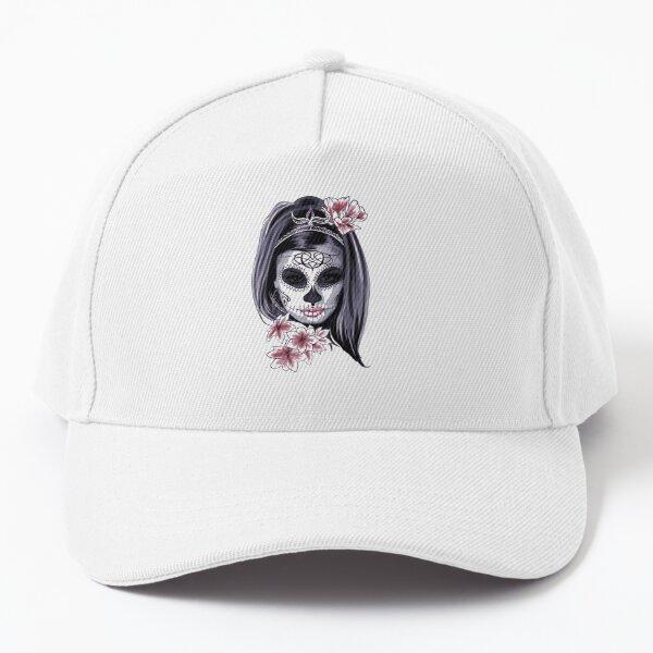 Skull woman Baseball Cap