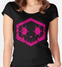 Sombra Skull Women's Fitted Scoop T-Shirt