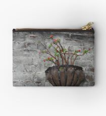 Flowers on a Wall Studio Pouch