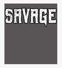Savage Photographic Print
