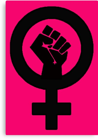 Quot Black Feminist Power Fist Quot Canvas Prints By Thelittlelord