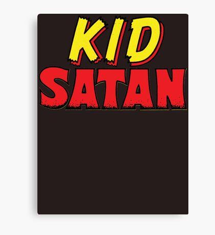 Kid Satan Logo Canvas Print
