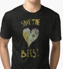 Bees? Tri-blend T-Shirt