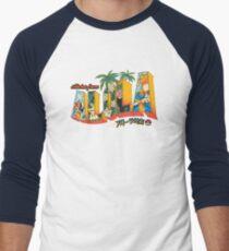 Aloha from Alola Men's Baseball ¾ T-Shirt