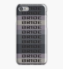 BRIDE JDM MATERIAL iPhone Case/Skin