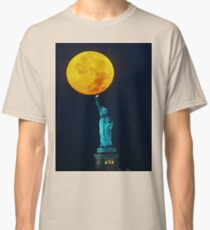 Supermoon 2016 2 Classic T-Shirt