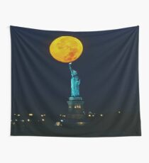 Supermoon 2016 2 Wall Tapestry