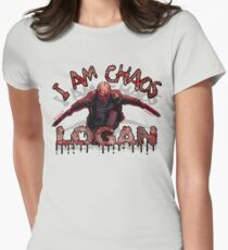 Logan Old MAN I AM Chaos Women's Fitted T-Shirt