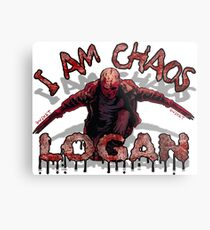 Logan Old MAN I AM Chaos Metal Print