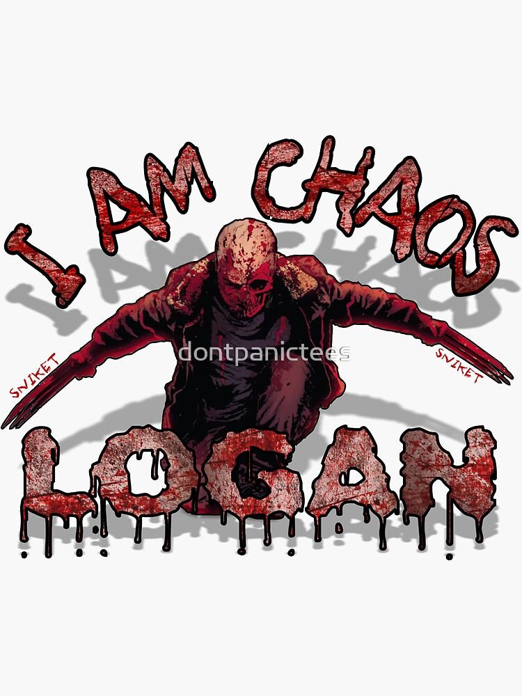 Logan Old MAN I AM Chaos by dontpanictees