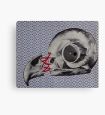 Bird Skull Canvas Print