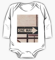 One Way One Piece - Long Sleeve
